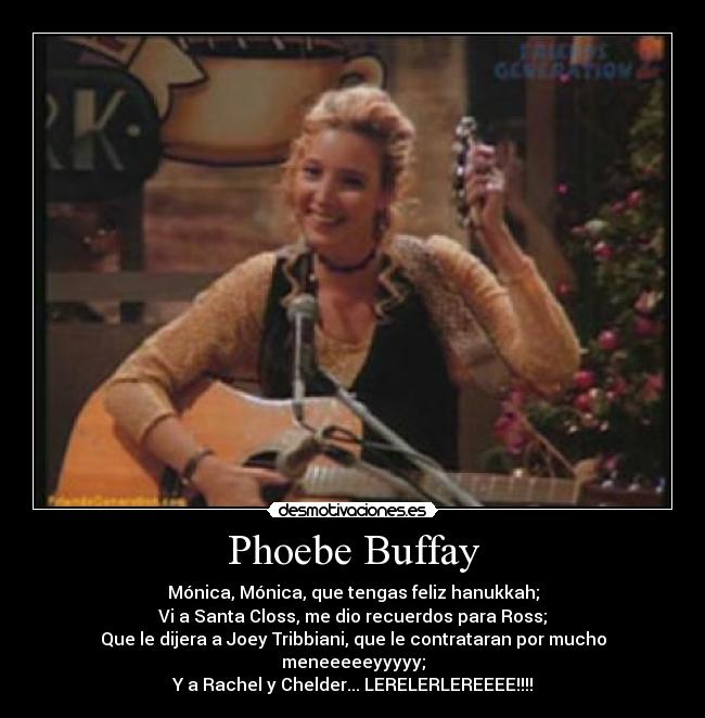 Phoebe Buffay - Wallpaper